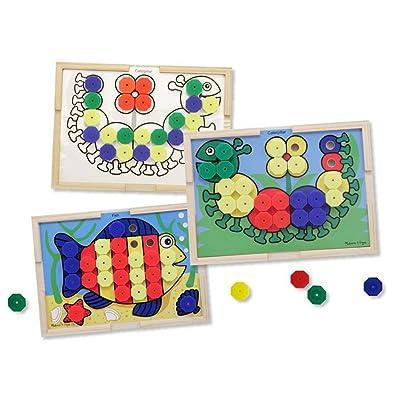 Melissa & Doug Sort & Snap Color Match: Melissa & Doug: Toys & Games