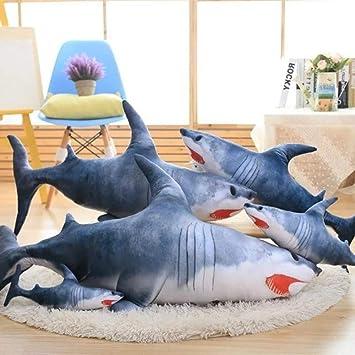 Amazon.com: Misslight - Almohada de tiburón para abrazar ...