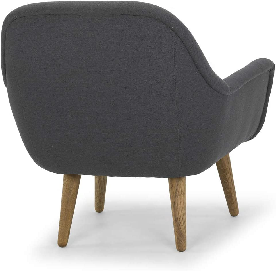 Dark Grey Brand -/Movian Aspan Upholstered Armchair 78 x 77 x 80 cm Stain-Resistant Polyester
