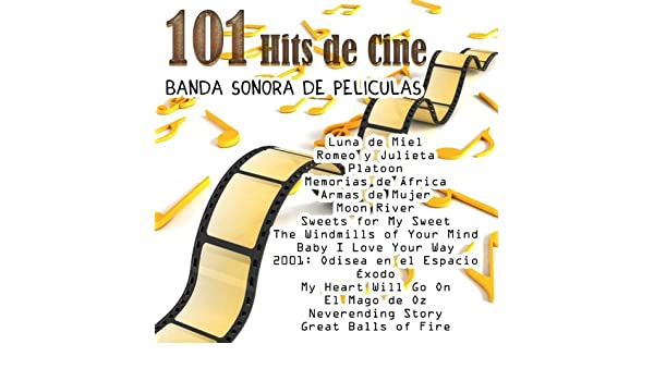 Banda Sonora de Películas - 101 Hits de Cine by Varios Artistas on Amazon Music - Amazon.com