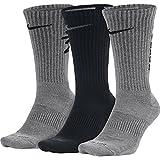 Nike Unisex Dry Cushion Crew Training Socks Multi-Color (900) Large (Mens Shoe Size 8-12)