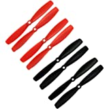 RAYCorp 6045 6x4.5 Bullnose Propellers. 8 Pieces(4 CW, 4 CCW) Genuine & 6-inch Quadcopter and Multirotor Props