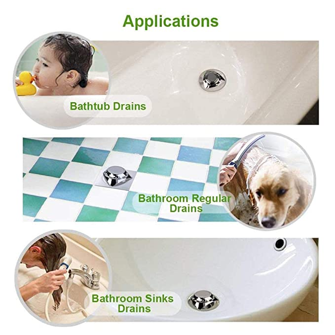 TAOtTAO bañera desagüe Pelo atrapasueños - Guardabarros bañera baño Ducha Lavabo desagüe: Amazon.es: Hogar