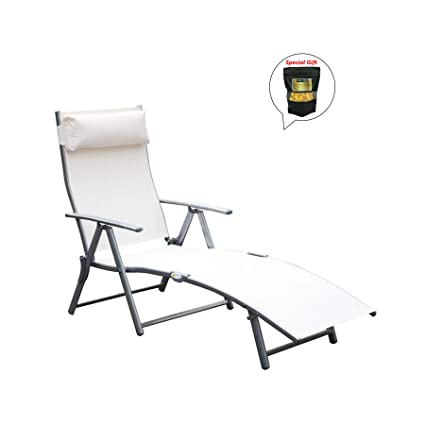 Marvelous Amazon Com Allgoodsdelight365 Patio Reclining Chaise Gamerscity Chair Design For Home Gamerscityorg