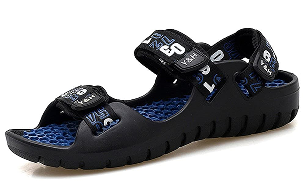 Femaroly Mens Sandals Non-slip Wear-resistant Beach Shoes Outdoor Refreshing Slippers