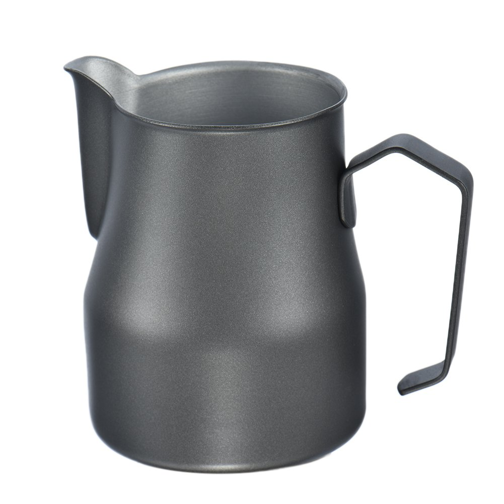 12oz/350ml Stainless Steel Milk Frothing Pitcher - Perfect for Espresso Machines, Milk Frothers, Latte Art