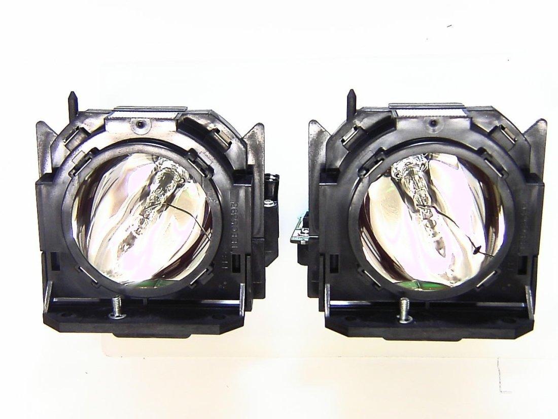 パナソニック(Panasonic) ET-LAD60W パナソニック交換ランプ 汎用ランプユニット【2灯セット】   B002C7III0
