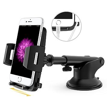 VUP Support Móvil Coche Rotación de 360 grados Universal Soporte Teléfono Coche para iPhone, Samsung