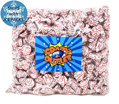 Hershey's Kisses Candy Cane, Creme Peppermint Bites Kisses Candy, 5 lbs