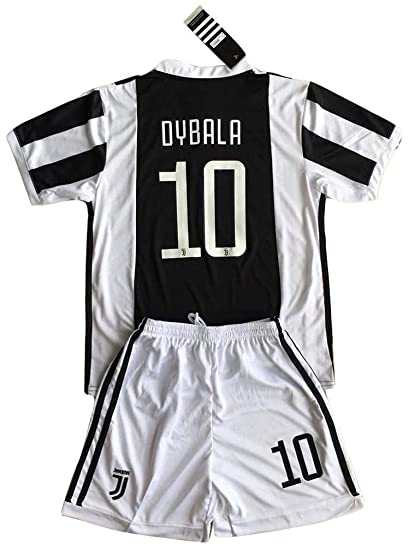 Dybala 10 Juventus Home Soccer Jersey & Shorts Youth/7-8 years/