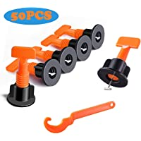 50-Pieces IRmm 2mm Tiles Leveling System Kits