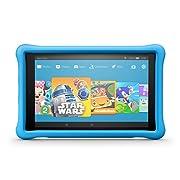 Fire HD 10 Kids Edition Tablet, 10.1  1080p Full HD Display, 32 GB, Blue Kid-Proof Case