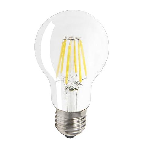 JINDA regulable 6 W E27 Edison Retro bombilla LED Equivalente a, 360 ° ángulo de