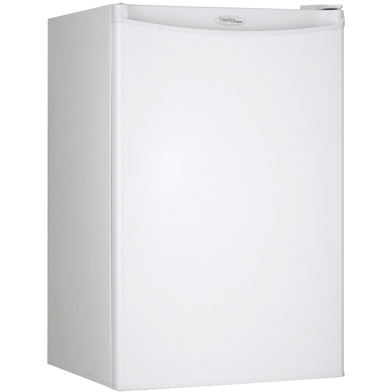 Danby DAR044A4WDD Compact Refrigerator, 115 V, 15 A, 1 Door 4.4 cu-ft White