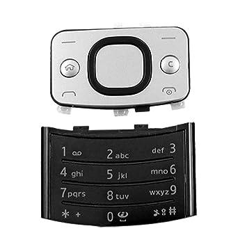 El tono de plata trackpad Negro teclado numérico para Nokia 6700S: Amazon.es: Electrónica