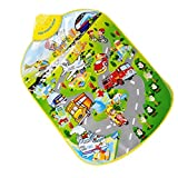 Baby City Traffic Music Carpet Blanket Toy Musical Touch Kick Playmat Toy Gift