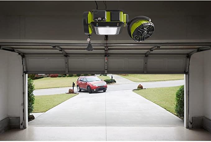 Ryobi Garage Door Opener 10 Extension Kit GDAEXT110 and Toucan City LED flashlight