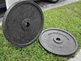 Cheap Hitechplates USA-Made 10 LB. Weightlifting Technique Plates (Pair)