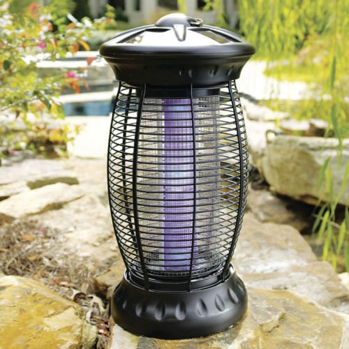 Outdoor Solar Bug Eliminator 6 UV LED Light Bulbs Mosquito by Shiro store