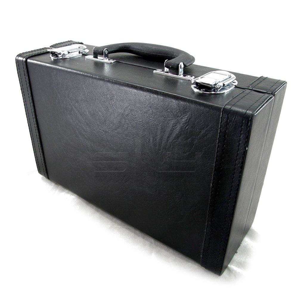Sky SKYCLHC601 Clarinet Imitation Leather Case, Black Color, Bb