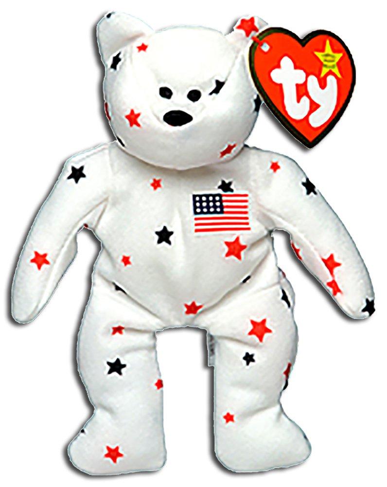 Amazon.com  TY McDonald s Teenie Beanie - GLORY the Bear (1999) (5 inch)   Toys   Games 8a3265d6809