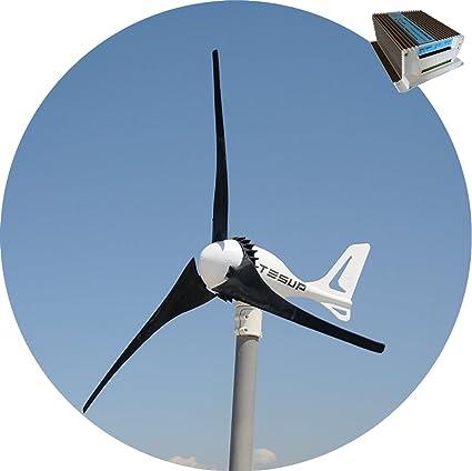 Amazoncom Tesup 12v I 500 Wind Turbine 650w Hybrid Charge