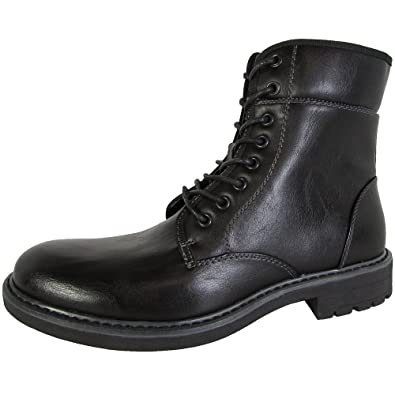 b0a79670871 Amazon.com | Steve Madden Mens Nesbitt Lace Up Ankle Boot Shoes | Boots