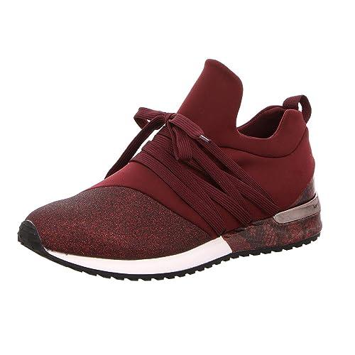 Cordones 966453 Strada Zapatos De La 4031 Para Mujer Rojo 36 rCdBoex