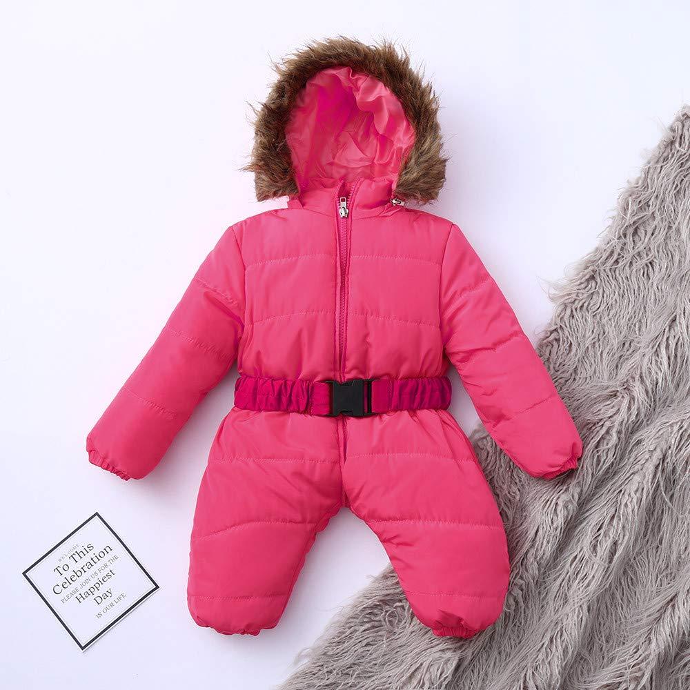 Amazon.com: Infant Newborn Baby Hoodie Down Jacket Jumpsuit Pram Snuggly Snow Suit: Clothing