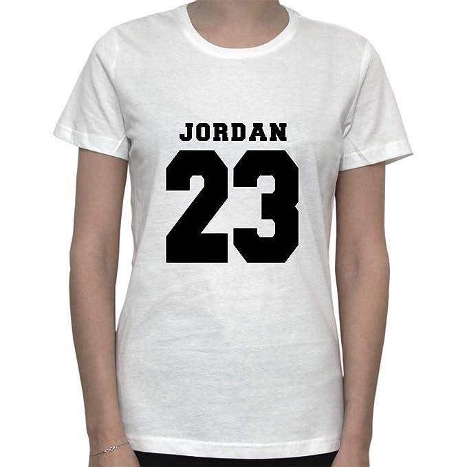 Basketball Memorabilia. NBA Inspired Artwork. Jordan 23 Womens T-Shirt Small