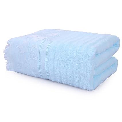 Puede usar toallas de baño Toallas de algodón Aumentar el engrosamiento de hombres y mujeres Toallas ...