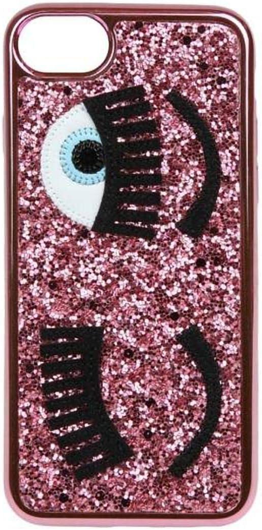 Chiara Ferragni Cover iPhone - Glitter Fuxia: Amazon.it: Elettronica