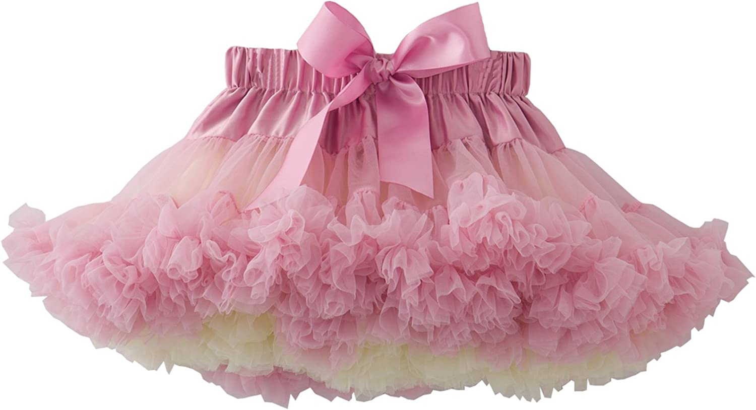 Women baby kid Girl Children Tutu Pettiskirt Princess Party Skirts Mini Rainbow