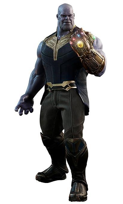 Amazon Com Hot Toys Movie Masterpiece Avengers Infinity War Thanos