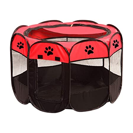 Pet Carpa Plegable Kennel Oxford Tela Jaula Impermeable, Jaula de ...