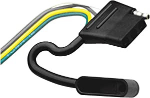 Hopkins 48005 4-Wire Flat Vehicle End Wiring Connector