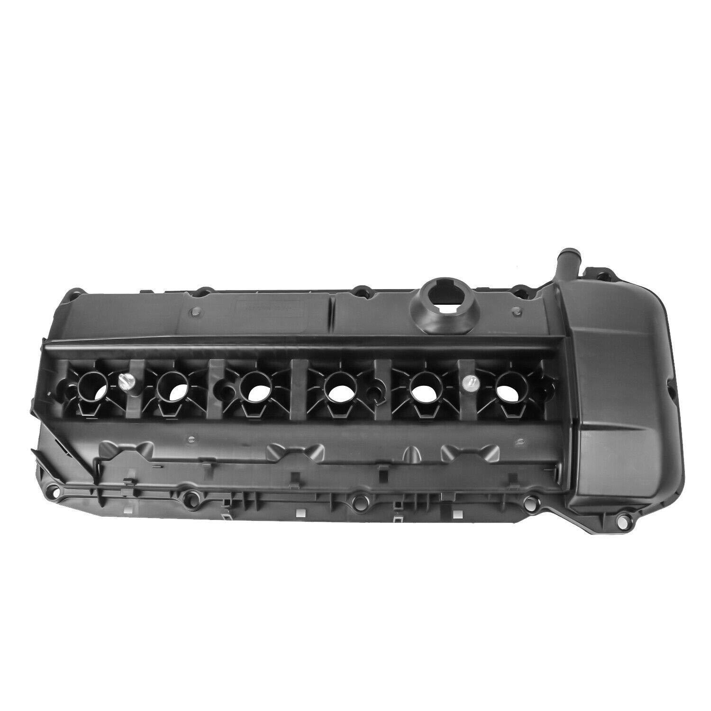 MOSTPLUS 11127512839 Engine Valve Cover For 02-06 BMW 330i 530i E46 E39 Z4 2.5L 3.0L