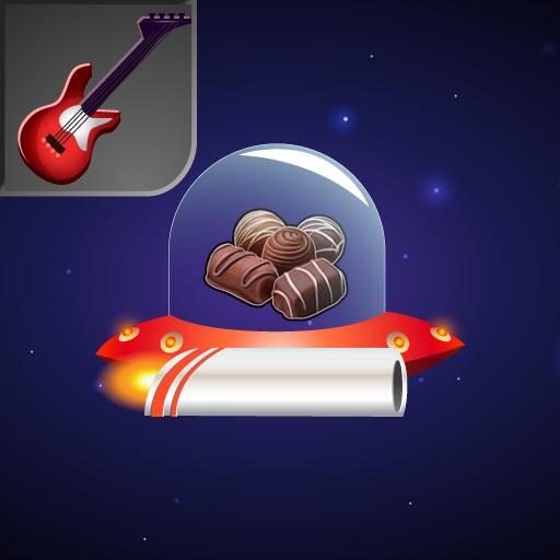 Subtraction Defender: Heavy Rock Sweets