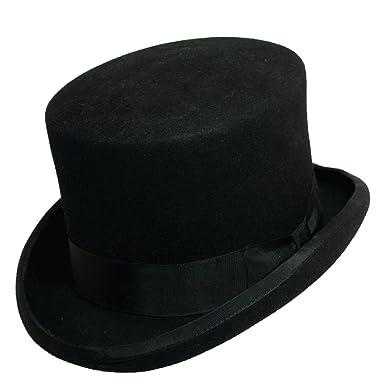 20546eb8 Scala Classico Men's Wool Felt English Topper Hat at Amazon Men's ...