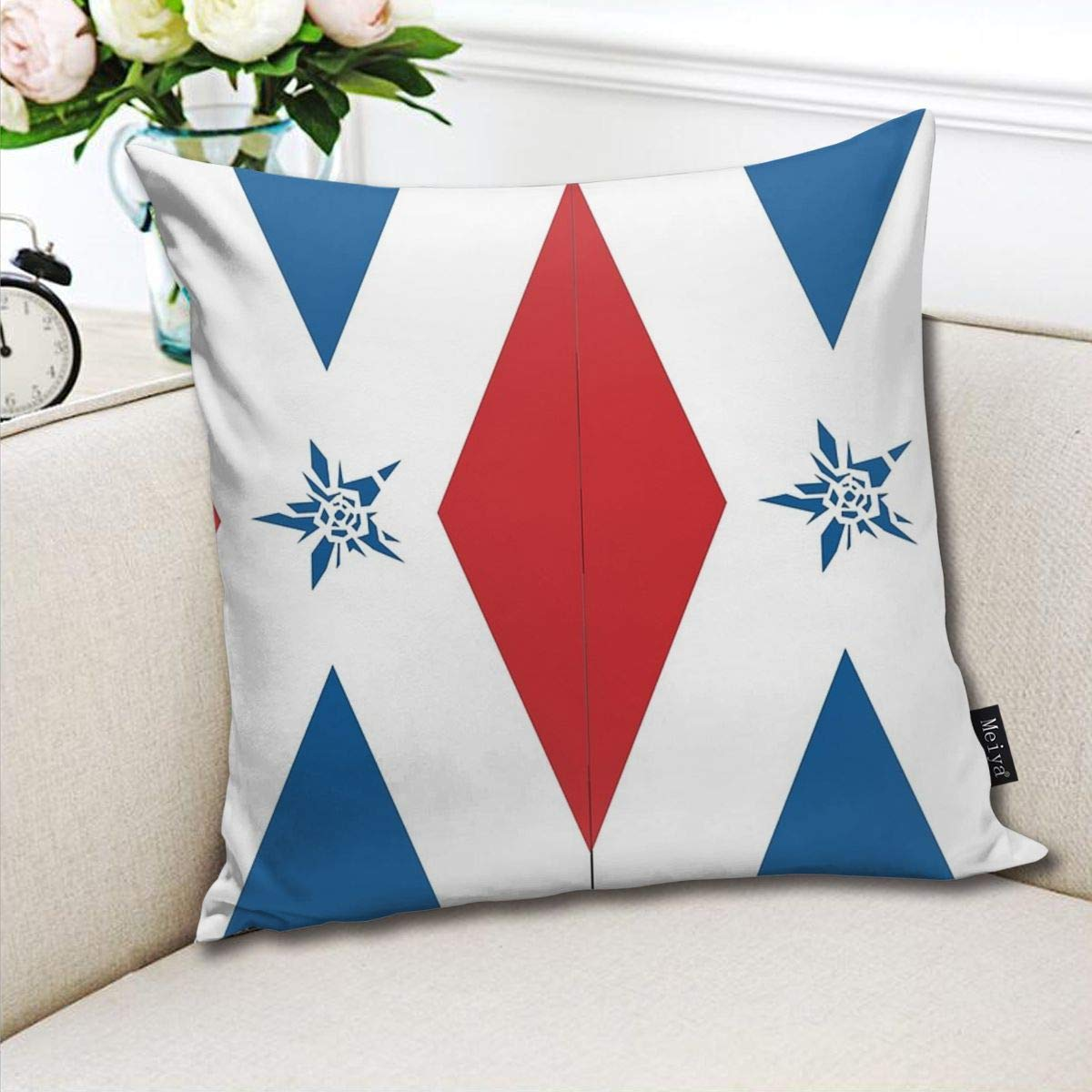 TopYYing Throw Pillow Cover 18 x 18 Inch 45 x 45 cm Square ...