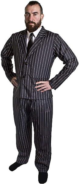 Disfraz DE GÁNGSTER Adulto DE 1920 para Hombre - Chaqueta Y ...