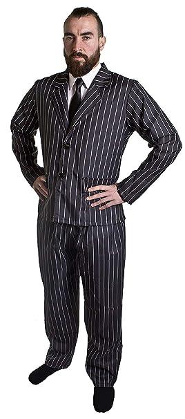 ILOVEFANCYDRESS - Disfraz de gánster de años 20 para Adulto (Traje ...