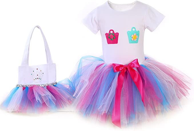 Amazon.com: hbbmagic bebé niña tutú falda para ballet y ...