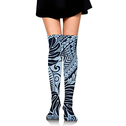 2ba6fd7a7de407 GERSWEET Ideal Gifts - Fashion Thigh High Long Tube Stockings for Women  Over The Knee Socks