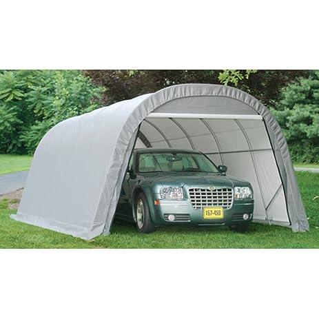ShelterLogic 12 x 20 ft. Round Style Canopy Carport  sc 1 st  Amazon.com & Amazon.com: ShelterLogic 12 x 20 ft. Round Style Canopy Carport ...