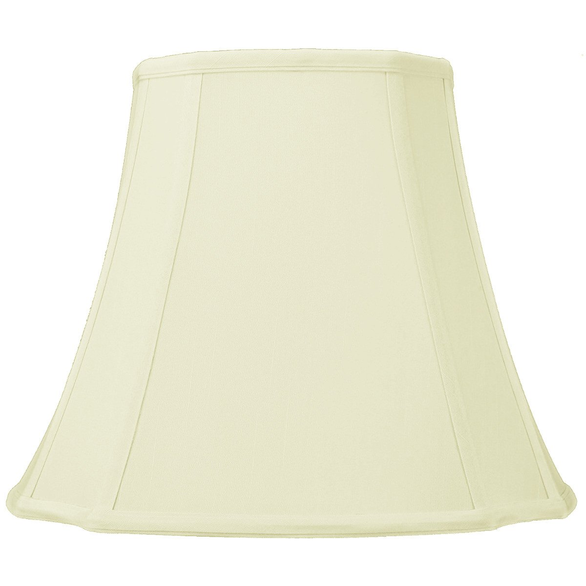7x12x11 French Oval Eggshell Lampshade with Brass Spider Fitter by Home Concept - Perfect for small table lamps, and Desk Lamps - Medium, Egg Shell