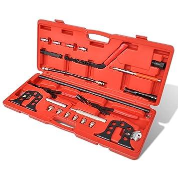 Lingjiushopping Pro Cilindro Kit de Extractor de Compresor de Muelle de Valvula Aplicable para motores de gasolina ...