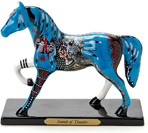 Enesco Trail of Painted Ponies from Sounds of Thunder Figurine 6.75 in