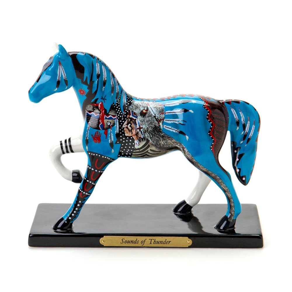 Amazon.com: Trail of Painted Ponies from Enesco Sounds of Thunder ...