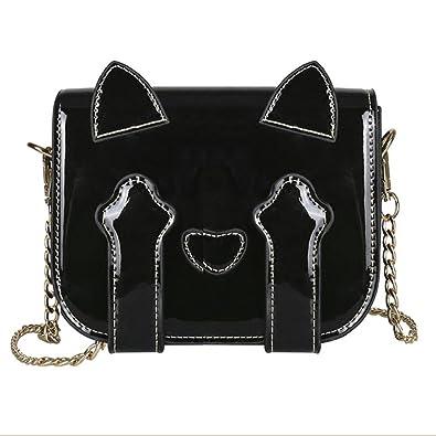 ecf6d815db Sale Sale Ladies Fashion Patent Leather Cat Shoulder Bag On Sale Beautytop Womens  Ladies Lattice Shoulder Tote Crossbody Handbags Bucket Bags Women S ...